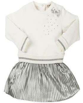 EMC girls winter dress AA4429-19 Silver