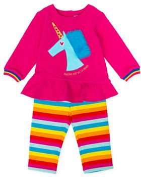 Agatha Ruiz De La Prada Girls Legging Set 8028-19 Cerise