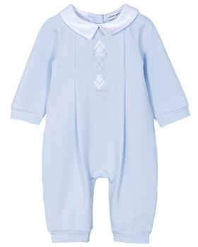 Jacob Matthews Baby Boys All In One Alexander JMW19-09A BLUE