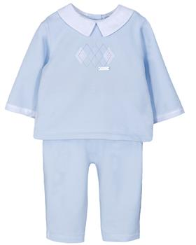 Jacob Matthews Boys Two Piece ACE JMW19-09B BLUE