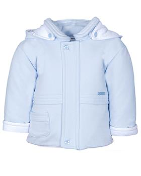 Jacob Matthews boys hooded coat JMW19-09C Blue