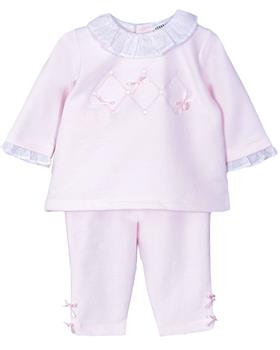 Jacob Matthews baby GIRLS soft fleece 2 piece JMW19-07B April