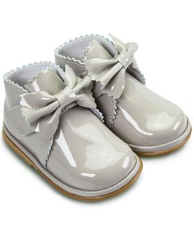 Fofito Girls Boot Sharon 1122 Grey Patent