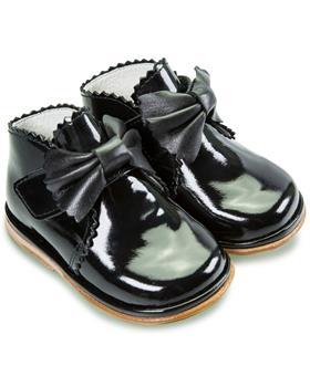 Fofito Girls Boot Sharon 1122 Black Patent
