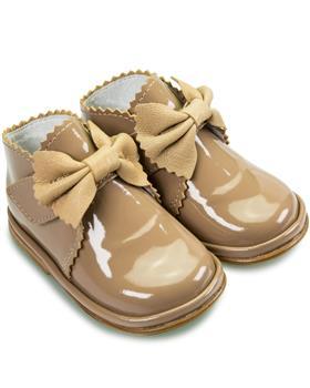 Fofito Girls Boot Sharon 1122 Camel Patent