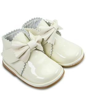 Fofito Girls Boot Sharon 1122 Cream Patent