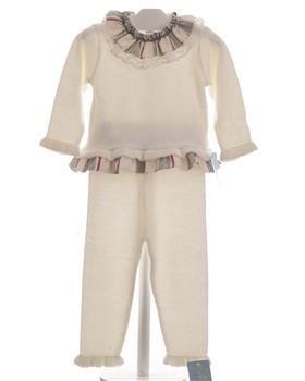 Granlei girls jumper & trouser set 1484-1191-19 Cream