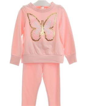 Daga Girls Butterfly Jog Suit M7557-651-19 PINK