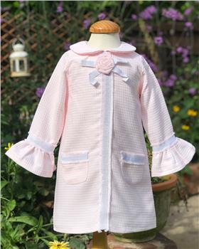 Rochy girls Chanel winter dress T06010 pink