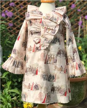 Rochy girls winter dress TOILE DE JOIE T06142