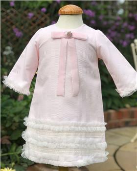 Rochy girls  A-line winter dress T06002 pink