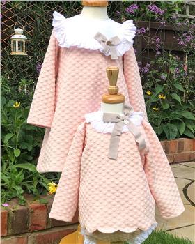Rochy baby girls angel top & pantie C06023 Blush