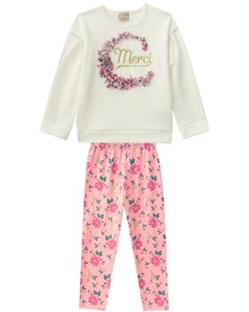 Milon girls winter top & leggings 11386-19 Grey