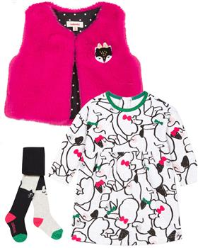 Catimini girls 3 piece set CP30063-94003-16023-19