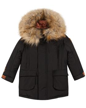 Catimini boys parka jacket CP42024-19 Black