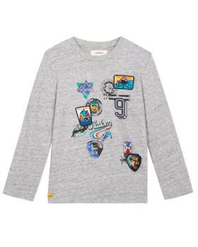 Catimini boys T-shirt CP10114-19 grey