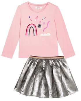 Catimini girls top & skirt set CP10245-27055-19 Pink