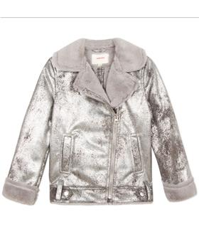 Catimini girls jacket CP41055-19 Silver