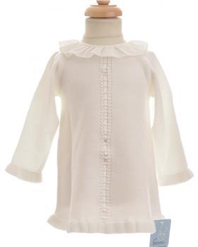Granlei baby girls dress 1506-19 Cream