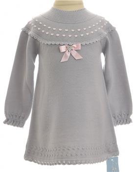 Granlei baby girls dress 1386-19 Gr/Pk