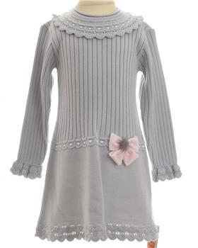 Granlei girls dress 1232-19 Gr/Pk