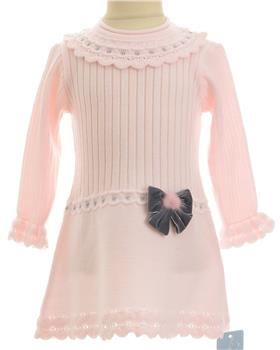 Granlei baby girls dress 1232-19 Pink