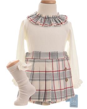 Granlei girls jumper & shorts set 1291-1292-19