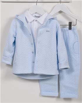 CoCo baby boys 3 piece jacket CCA5859-19 Blue