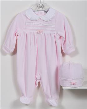 CoCo baby girls babygrow CCA5864-19 Pink