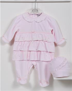 CoCo baby girls babygrow CCA5875-19 Pink