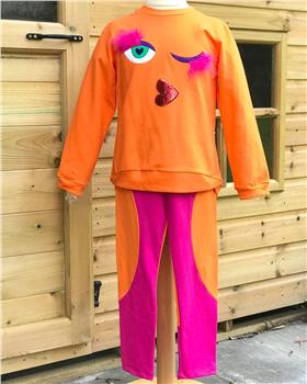 Agatha Ruiz De La Prada Top & Legging 7SS2861-2748-19 Orange