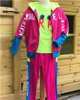 Agatha Ruiz De La Prada Jacket, Top & trouser 1433-2831-2758-19