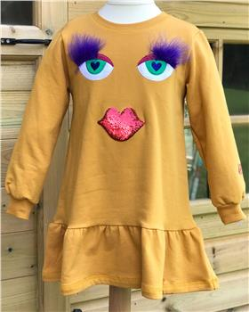 Agatha Ruiz De La Prada Dress 7VE3273-19 Yellow