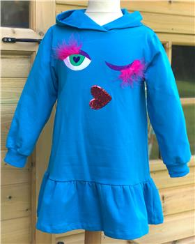 Agatha Ruiz De La Prada Dress 7VE3274-19 Blue
