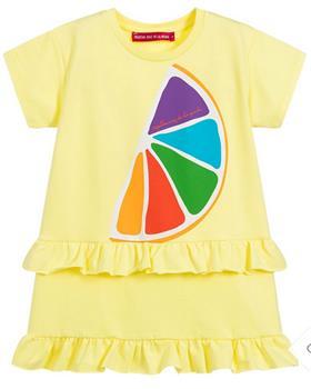 Agatha Ruiz girls tutti frutti dress 7VE3294-20 Yellow
