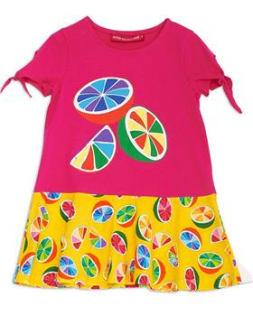 Agatha Ruiz girls tutti frutti dress 7VE3296-20 Pink