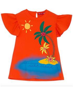 Agatha Ruiz girls bahia desert dress 7VE3326-20 Orange