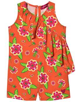 Agatha Ruiz girls bahia playsuit 7MC0211-20 Orange
