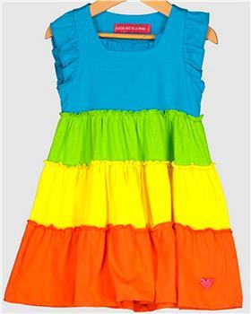 Agatha Ruiz girls heartful tiered dress 7VE3342-20