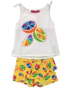 Agatha Ruiz girls tutti frutti T-shirt & shorts 7TS5424-0899-20