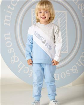 Mitch & Son Tracksuit MS1303-20 Blue