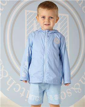 Mitch & Son boys anorack jacket MS1301-20 Blue