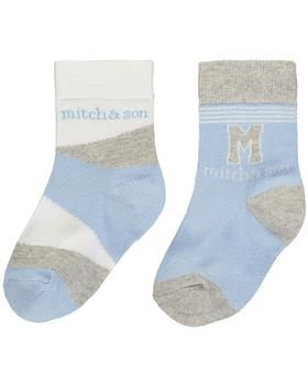 Mitch & Son boys socks MS1316-20 Blue