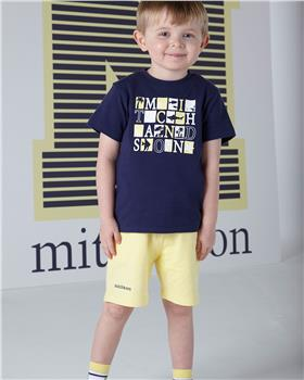 Mitch & Son T-shirt & short set MS1324-20 Navy