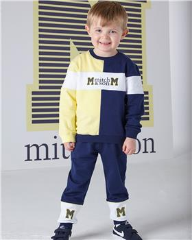 Mitch & Son boys tracksuit MS1320-20 Navy