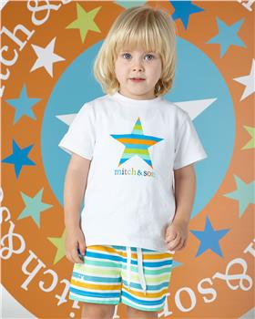 Mitch & Son boys star T-shirt & shorts MS1339-1347-20