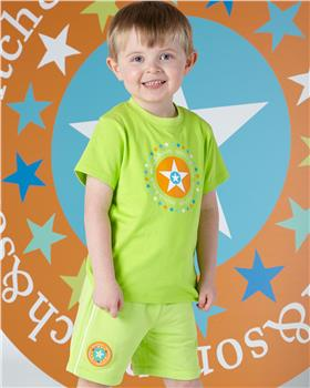 Mitch & Son boys T-shirt & shorts MS1341-1345-20 Lime