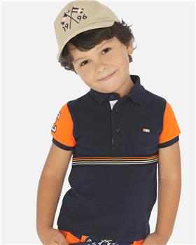 Mayoral boys polo shirt 3153-20 Orange