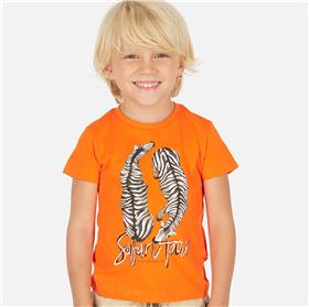Mayoral boys T-shirt 3063-20 Orange