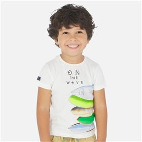 Mayoral boys T-shirt 3067-20 White